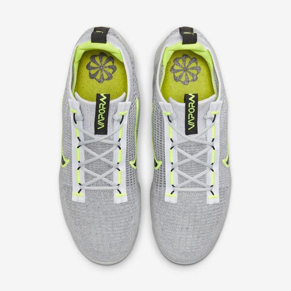 Nike Air Vapormax 2021 FK [DH4085-001] 男 慢跑鞋 慢跑鞋 編織 氣墊 緩震 灰