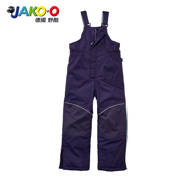 JAKO-O德國野酷-保暖連身吊帶雪褲-紫