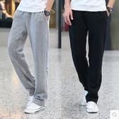 褲子男士運動褲休閒寬鬆直筒 黛尼時尚精品
