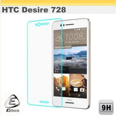 【Ezstick】HTC Desire 728 鏡面鋼化玻璃膜 153x72.5mm