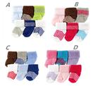 [Mamae] (6雙/組)美國 Luvable Friends 初生嬰兒必備套裝組 棉質寶寶襪子 出生嬰兒幼兒禮物