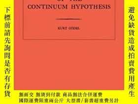 二手書博民逛書店Consistency罕見Of The Continuum Hypothesis. (am-3)Y256260