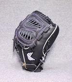 「野球魂」--「KAULIN」【店家特製】硬式棒球手套(投手,KG-021,鯊魚檔,黑色)