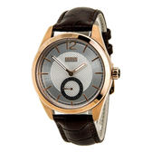 Hugo Boss 德式時尚獨立小秒針腕錶-咖