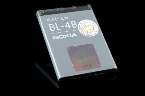 NOKIA 原廠電池 BL-4B 2505/ N2630/ N2660/ N2760/ N6111/ N7370/ N7500/ N76/7373/7070 Prism