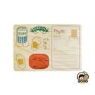 【收藏天地】印章明信片*寶島啤酒 ∕  印章 擺飾 送禮 趣味 文具 創意 觀光 記念品