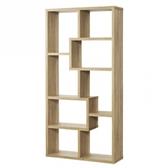 特力屋康迪仕造型隔間櫃-淺木色