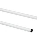 特力屋 烤漆鐵管 80cm 白色