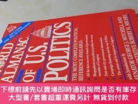 二手書博民逛書店The罕見World Almanac of U.S. Politics(1991-1993)【16開 英文原版】美