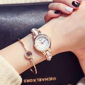 手鍊錶女手錶正韓簡約女士手錶女時尚潮流女錶學生防水女生石英錶 全館八五折