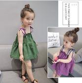 女嬰兒裙子夏季純棉女寶寶連身裙小女孩夏裝女童裝公主裙 春生雜貨
