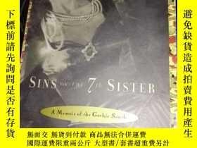 二手書博民逛書店《七姐妹的原罪》sins罕見of the 7th sister 英文原版小說 LJY3442 huston c
