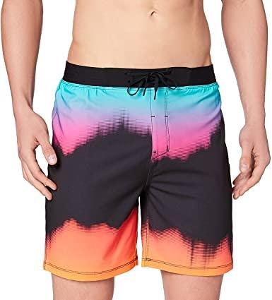 "HURLEY|男 PHANTOM HW GLITCH 18"" BLACK 海灘褲"