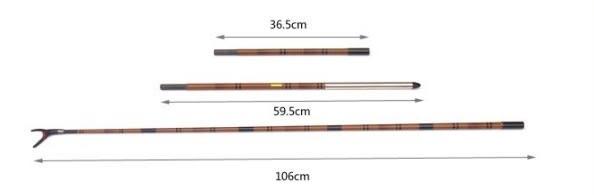 [協貿國際]  1.9米3節插節並繼台釣竿砲台支架