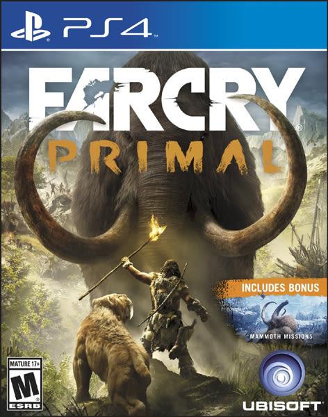 PS4 Far Cry Primal 極地戰嚎:野蠻紀源(美版代購)