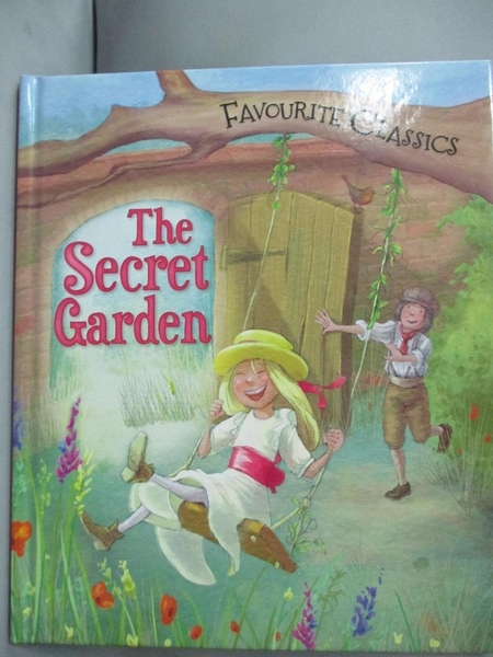 【書寶二手書T6/少年童書_JD8】Favourite Classics: The Secret Garden_Sasha Morton