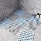 浴室止滑墊浴室防滑墊衛生間地墊家用淋浴洗澡防水淋浴房洗澡間拼接地墊