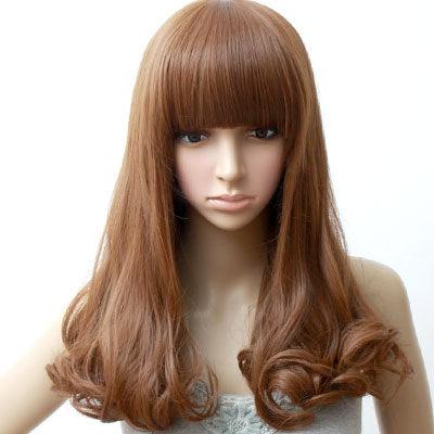 高仿真超自然整頂假髮【MA113】棉花糖女孩中長梨花假髮☆雙兒網☆