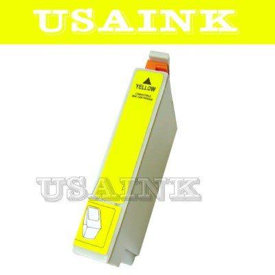 免運☆USAINK☆EPSON T0734N/73N/T1054 黃色相容墨水匣 CX5505/CX7300/CX8300/CX9300F/T20/T21/TX100/TX110/TX200/TX21..