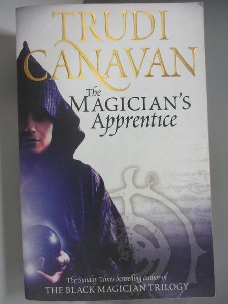 【書寶二手書T1/原文小說_ALB】The Magician s Apprentice_Trudi Canavan