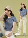 短款短袖t恤女2021年新款ins潮夏季寬鬆韓版小個子高腰露臍上衣夏 喵小姐