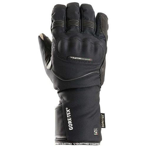 【東門城】V'QUATTRO TURISMO-GTX 冬季防風保暖手套(黑)
