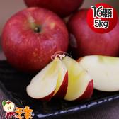 果之家 美國華盛頓榨汁富士蘋果16顆入5kg(單顆約312g)