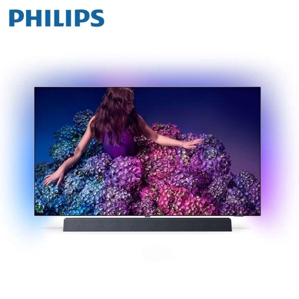 【指定送達不含安裝】PHILIPS 飛利浦 65吋 4K智慧連網顯示器+視訊盒 65OLED934