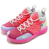 Nike Zoom KD11 GS EYBL 橘 紅 綠 籃球鞋 Kevin Durant 11代 女鞋 大童鞋 慢跑鞋【PUMP306】 AH3465-600