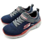 《7+1童鞋》中大童 SKECHERS  97923LNVGY  輕量 透氣 慢跑鞋 運動鞋 B992  藍色