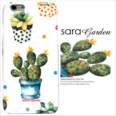 3D 客製 手繪 水彩 仙人掌 盆栽 iPhone 6 6S Plus 5 5S SE S6 S7 M9 M9+ A9 626 zenfone2 C5 Z5 Z5P M5 X XA G5 G4 J7手機殼