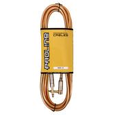 JYC Music 嚴選PRO LINE編織亮彩紋低雜訊導線(金色)-4.5米/低雜訊/高傳導L接頭