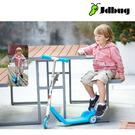 【下殺↘1050】Jdbug 兒童三輪滑板車TC11 (藍色) / 城市綠洲 (滑步車 代步 兒童車)