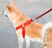 狗狗牽引繩胸背帶項圈遛狗繩子薩摩耶金毛狗鍊子中大型犬寵物用品(七夕情人節)