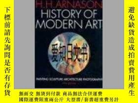 二手書博民逛書店【罕見】History of Modern Art: Painting, Sculpture, Architect