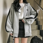 外套女春秋2020新款韓版學生運動風ins寬鬆慵懶學院風連帽棒球服 【聖誕節狂歡購】