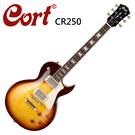 ★CORT★CR250-VB嚴選電吉他-經典虎紋款-漸層色