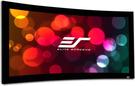 《名展影音》 Elite Screens 億立  Curve106WH1 106吋 16:9 頂級弧形固定框架幕-4k劇院雪白