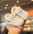 學步鞋 冬季0一1歲女寶寶棉鞋3-8-10個月幼兒軟底學步鞋男童二真皮不掉【快速出貨八折鉅惠】