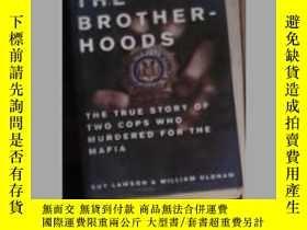 二手書博民逛書店英文原版罕見Brotherhoods by Guy Lawson
