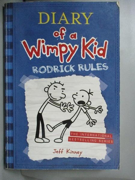 【書寶二手書T9/語言學習_CMZ】Diary of a Wimpy Kid2-Rodrick Rules_Jeff Kinney