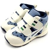 《7+1童鞋》ASICS 亞瑟士 高筒 牛仔星星  機能 輕量 運動鞋 機能鞋 5197 藍色