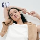 Gap女裝 簡約純色圓領短袖T恤 795...