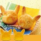 〔小禮堂〕Pokémon皮卡丘 蛋糕矽膠壓模《大.黃.大臉造型》輕鬆打造趣味料理 4973307-261862
