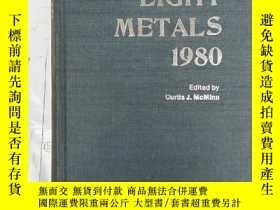 二手書博民逛書店light罕見metals 1980 (H2411)Y17341