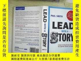 二手書博民逛書店Lead罕見with a Story: A Guide to C