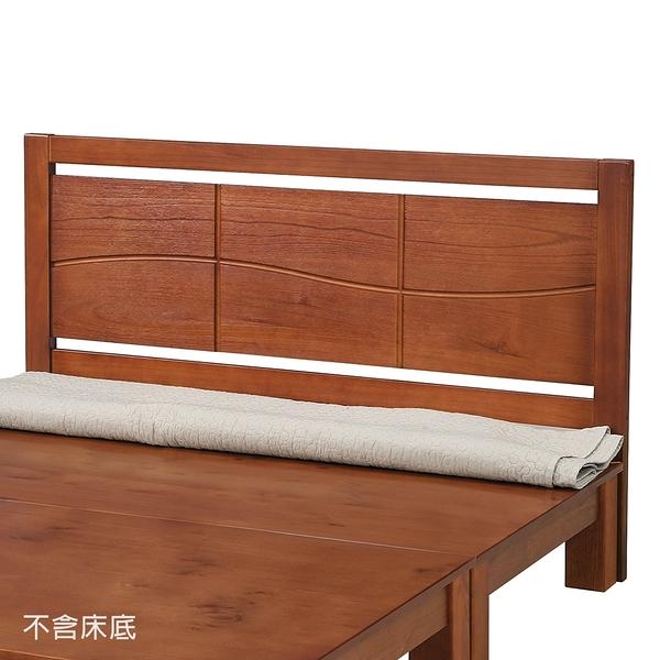 【森可家居】僑丹6尺雙人加大床頭片 8SB078-4 松木實木 日式無印鄉村風