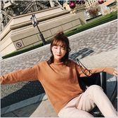 冬裝 半高領 加厚 毛衣 女 韓版 套頭 針織 毛線衣 T恤 長袖
