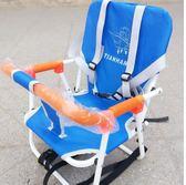 電動車兒童前置座椅安全椅電瓶車摩托車踏板車通用嬰兒寶寶折疊座