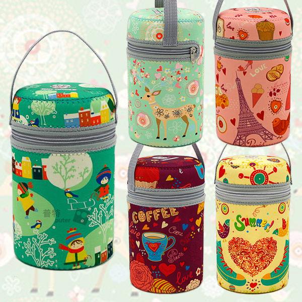 【OD0175】大號750ml=cc通用悶燒杯套 悶燒罐保護套 燜燒壺食物罐保溫套手提袋 膳魔師象印適用